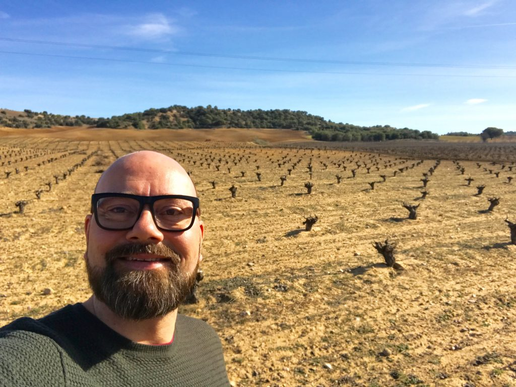 Chris Grenness vineyard